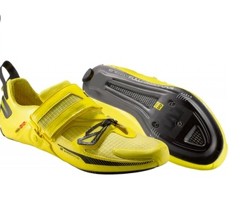 ZAPATILLAS TRIATLON MAVIC TRI HELIUM 13 AMARILLO