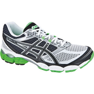 ZAPATILLAS RUNNING ASICS PULSE 5 BLANCO / NEGRO / VERDE