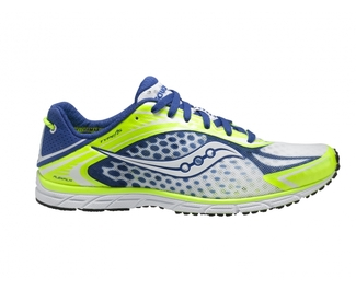ZAPATILLAS RUNNING TRIATLON SAUCONY TYPE A5 BLANC/AZUL/VERDE