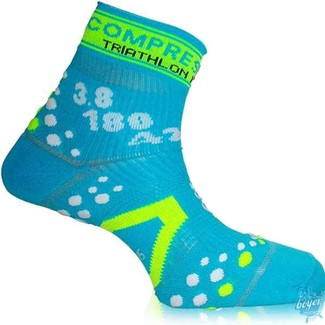 CALCETINES TRIATLON COMPRESSPORT NICE FINISHER EDITION