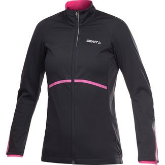 CHAQUETA CICLISMO MUJER CRAFT BIKE STRETCH NEGRO