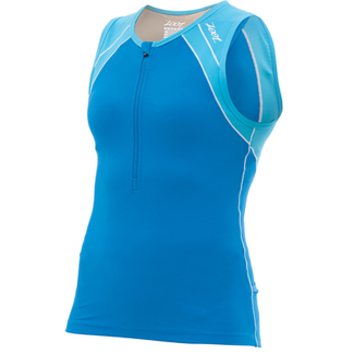 TOP TRIATLON MUJER  ZOOT  PERFORMANCE OCEANO