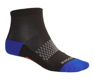 CALCETINES RUNNING BROOKS NEGRO AZUL