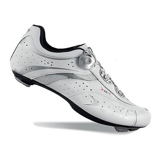 ZAPATILLAS CICLISMO CARRETERA  LAKE CX175 BLANCO/PLATA