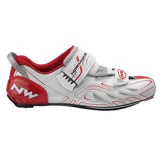 ZAPATILLAS CICLISMO TRIATLON  NW TRIBUTE TRIATHLON BLANCO/ROJO