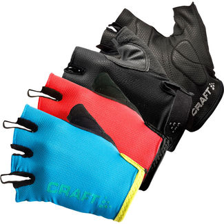 GUANTES CORTOS CICLISMO CRAFT ACTIVE BIKE NEGRO