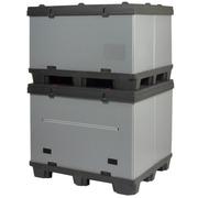 Palet Box TARPACK de Plastico 4 Entradas 80x120