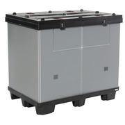 Palet Box Plastico TARPACK 4 Entradas 1200x1000