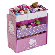 Organizador Multi-Bin Madera/Tela Hello Kitty