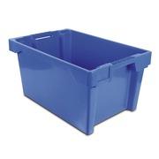 Caja de Plastico Color Azul 40x60x30 Modelo 6430