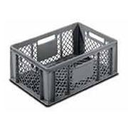 Cajón Plastico Ranurado C/Asas 40x60x22cm Ref.3257