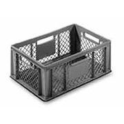 Cajón Ranurado Fondo Liso C/Asas 600x400x220 Ref.3262
