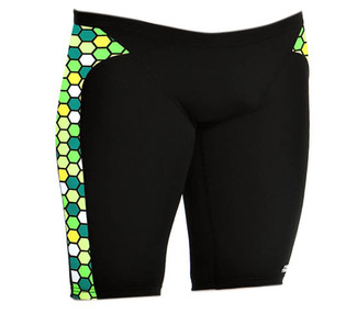 FUNKY TRUNKS Male Jammer FT37 Golden Honeycomb Outlet