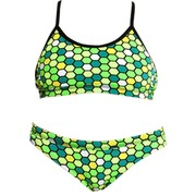 FUNKITA Bikini Entrenamiento Junior FS02G Golden Honey Comb