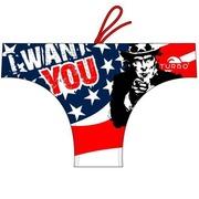 Bañador Waterpolo TURBO USA WANTS YOU Outlet M