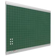 Pizarra Verde Mural Zénit Cuadriculada Acero Vitrificado