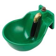 Bebedero Empujador de ABS Verde para Caballos