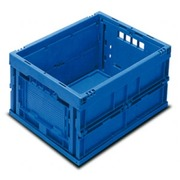 Caja Sólida Plegable 22 Litros Azul Ref.432-22