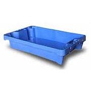 Cubeta Pesca Azul C/Drenaje 15 Litros Apilable Ref.2000