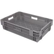 Caja Plastica 600x400x140 Apilable Rejillada OIP PV6414-00