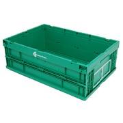 Caja Plástica 39.6x59.4x21.4 cm OIP Plegable O6423