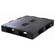 Palet Plastico Superficie Tapada 1000x1200 Negro 1210HCD5R