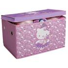 Caja de Juguetes Plegable Tela Hello Kitty