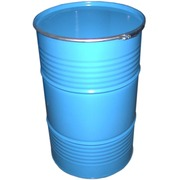 Bidón Metálico Cierre Aro Color Azul 220 Litros Ref.220K08