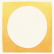 Cuadro Acuarela Circulo Color Blanco Ref.WA028