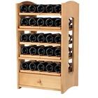 Botellero de la serie Riesling con 5 baldas extraibles + 1 cajón para accesorios