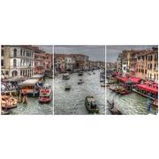 Cuadro Venecia Multi 3 90x40cm Ref.106417418