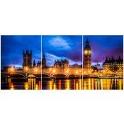Cuadro Londres Multi 3 90x40cm Ref.118399135