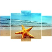 Cuadro Estrella Mar Piramide 5 Piezas Ref.14778628
