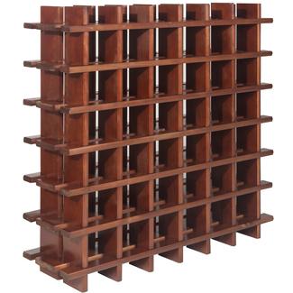 Estanter as para botellas de vino botelleros modulares - Estanteria madera maciza ...