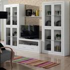 Conjunto Muebles deSalón Blanco Lacado