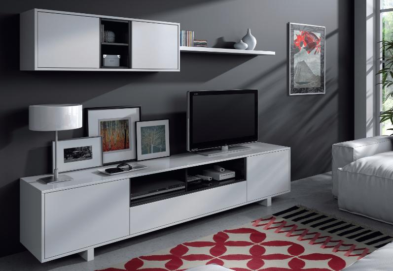 Conjunto muebles de salon tv - Conjunto muebles salon ...