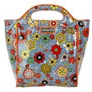 Bolso de Mano C/Asas Floral Swirl Multicolor Ref.HDK817