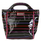 Bolso de Mano Pencil Stripes Berry