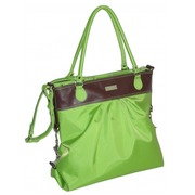Bolso de Mano Tapicería de Cuero Verde Ref.HDK818