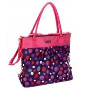 Bolso de Mano Bouncing Ball Berry Cuero Ref.HDK818