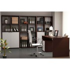 Ambiente de Oficina Completo Wengué Blanco 2