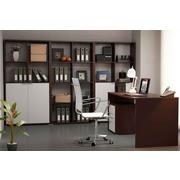 Ambiente de Oficina Wengue Blanco Completo 2