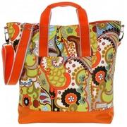 Bolso de Viaje Nylon Hannah´s Paisley Naranja Ref.HDK843