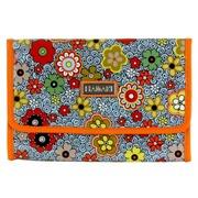 Neceser C/Percha Floral Swirl Naranja Ref.HDK823
