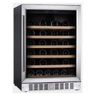 Vinoteca para 50 botellas Modelo Loire 145 INOX