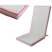 Cojín Silla Exterior Liso Color Crema 123x48x4cm