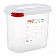 Cubeta Hermética ColorClip GN 1/9 1.5 litros Ref.03022
