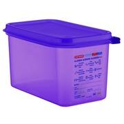 Cubeta Hermética 4.3 litros Antialérgeno GN 1/4 Ref.61392