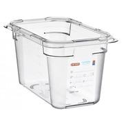 Cubeta S/Tapa GN 1/4 4.3 litros Ref.09818