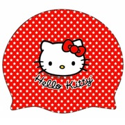 GORRO SILICONA TURBO HELLO KITTY